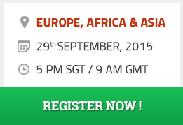 For Europe Africa and Aisa - Register Now!
